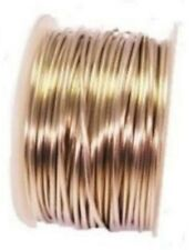 TINNED COPPER WIRE 18GA SOFT 1/2 LB. 100 FT.SOLID COPPER BEADING & WRAPPING WIRE