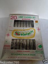 Vintage 20 Ice Cycle Light Flasher Set