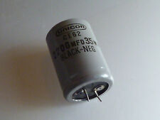 UNICON  CAPACITOR 2200MFD 35VDC  Can Electrolytic Capacitor  30X40mm