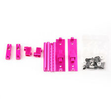 1/10 RC Car Adjustable Height Alloy Stealth Body Stand / Mount - Pink 078026PI