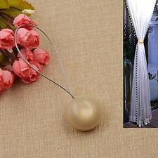Vorhang Raffhalter Magnet Halter Halbkugel Zubehör Gardine Zugband Fenster Deko