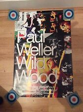 Paul Weller Promo Poster Wild Wood LP The Jam Style Council RARE 1993