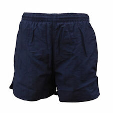 "CHEX Mens Navy Blue Mesh Lined Swimming Casual Sports Shorts 32"" Waist 3 Pockets"