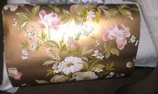 Vintage THIBAUT Golden Floral Wallpaper T2158 Wallcovering One Roll 70 Square Ft