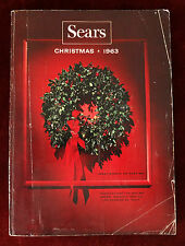 Sears Christmas Catalog 1963 ~ Toys Fashion Accessories Dolls