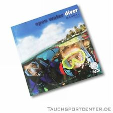 PADI Open Water Diver OWD Manual, Dive Computer Version, German