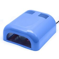 36w UV Ultraviolet Light Lamp LOCA Glue Refurbish LCD Front Glass Dryer - Blue