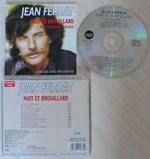 CD ALBUM NUIT ET BROUILLARD JEAN FERRAT 10 TITRES TEMEY DISQUES