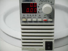 Lamba ZUP60 Power Supply Tested Working Constant Voltage Digital Meters