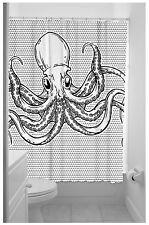 Sourpuss OCTOPUS Sailor Vintage Tentacles DUSCHVORHANG Rockabilly