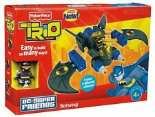 BATMAN BATWING TRIO DC SUPER FRIENDS SET FIGUR FISHER PRICE