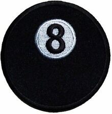 8 Ball Embroidered POOL Motorcycle Quality Club Biker Nice Vest Patch PAT-0019