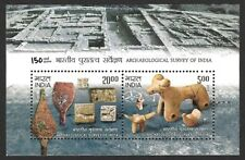 India 2011 ASI Archeological Survey of India MS miniature sheet MNH