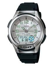 Casio Men's Watch AQ180W-7BV Gents Quartz Men Hand Wrist Watches Stainless Steel