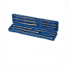 Silverline SDS Bohrer Meißel Set  12tlg für BOSCH PBH 2100 2500 2800 RE 3000 FRE