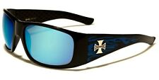 Choppers Mens Motorcycle Bikers Day Riding Sunglasses Colored Flames