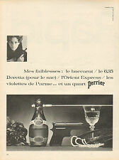 Publicité Advertising 1966  PERRIER