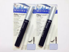 maybelline full'n soft mascara volume+care 305 soft  black pack of 2