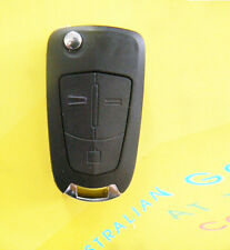 3 Button Flip Remote Key Shell Case for Vauxhall Opel Astra Corsa Vectra Zafira