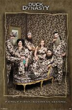Duck Dynasty Family First Business Second  Jace Kay Korey Si Willie Poster T2205