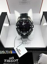 Tissot T-Touch Expert Mens Titanium Swiss Solar Quartz Watch T091.420.46.051.01