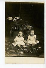 Babies & Play Toys RPPC Dolls—Teddy Bear—Brush—Rug Cute Photo 1910s