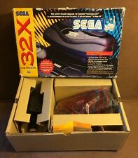 Sega Genesis 32X Console In Box! ~ System Works Excellent! ~ Fast Shipping! ~