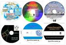 Repair Utilities, Data Recovery, Password Restore, Drivers, Partition 6 disk
