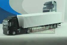 1/50 Scale VOLVO GLOBETROTTER FH black Tractor Trailer Truck DieCast