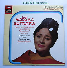 SXLP 30306 - PUCCINI - Madame Butterfly highlights DE LOS ANGELES - Ex LP Record