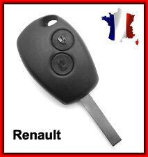 Coque Télécommande Plip Clé 2 Bouton Renault Clio Espace Laguna + Clé Vierge