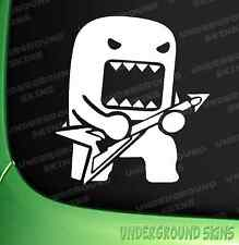 Domo Kun Rockstar Funny Car/Window/Bumper JDM VW  DRIFT Vinyl Decal  Sticker