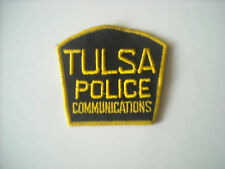 """Old Style""  Tulsa Oklahoma Police Communications Sleeve Patch"