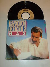 "PALOL CONTE - Max - 1987 German 2-track Juke Box 7"" Vinyl Single"