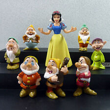Cute New White Snow Princess & Seven Dwarfs Figure Collection Toys