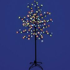 1.5m Pre-lit Cherry Blossom 150 LED Tree Multi-Coloured Christmas Light Decor
