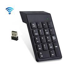 2.4G Wireless USB Key Number Pad Numeric Keypad Accounting Small Mini Keyboard
