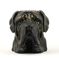 Dogue de Bordeaux ,French Mastiff, Tête de chien, statue en résine Art Dog