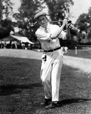 US Amateur Golfer FRANCIS OUIMET Glossy 8x10 Photo Golf Swing Print Poster