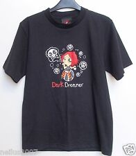 Ladies Ruby Gloom Dark Dreamer Black Cotton T-Shirt Top Size Small Age 14-15