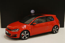 1:18 VOLKSWAGEN GOLF 7 GTI RED VW MK7 - NOREV HQ DIECAST - MODEL CAR COLLECTION