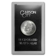 Morgan Silver Dollar CC Mint - Random Year - Brilliant Uncirculated - GSA Case