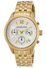 Michael Kors Women's MK6132 Ritz Chronograph Gold Tone Stainless Steel Watch