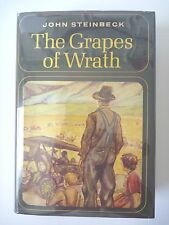 THE GRAPES OF WRATH by JOHN STEINBECK 1966 FIRST EDITION 13TH PRINTING HC/DJ VG+