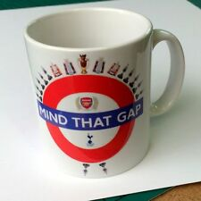 Mind The Gap St Totteringham Day Arsenal MUG