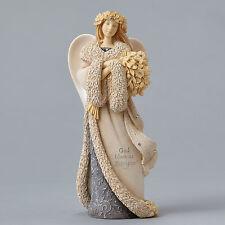 Foundations Karen Hahn Christmas Angel & Holly God Bless Us  2015 4047711