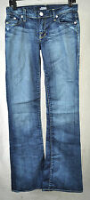 Rock & Republic Roth Addict Wash Snake Orange Blue Jeans 26 USA 7627 Womens