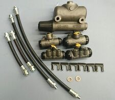FORD GPW BRAKE CYLINDER AND FLEX HOSE SET INCLUDES MASTER AND WHEEL CYLINDERS