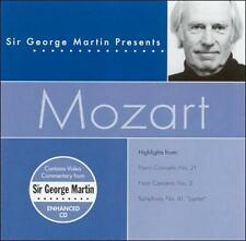 Sir George Martin Presents Mozart ECD (CD, Apr-2002, Compendia Music Group)