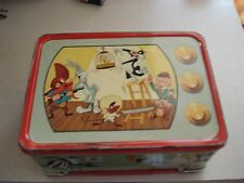 1959 Warner Bros. Looney Tunes Lunch box,MUST SEE) 10.00 Shipping)